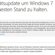 Schnüffel-Updates für Windows in neuen Versionen