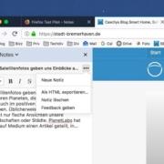 Firefox: Verbesserte Notiz-Funktion im Test Pilot